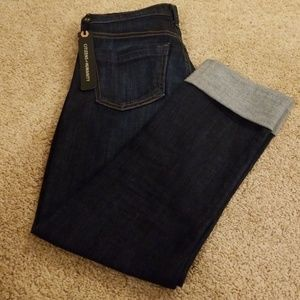 NWT! Citizens of Humanity Blue Cropped Denim